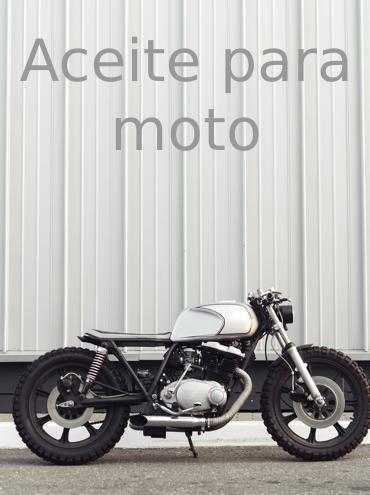 Todos los aceites para tu moto
